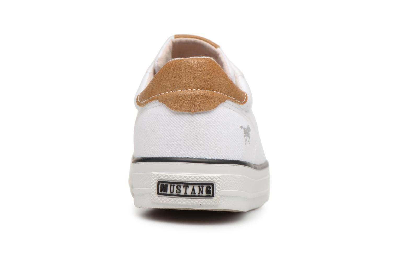 Baskets Mustang shoes Fanchi Blanc vue droite