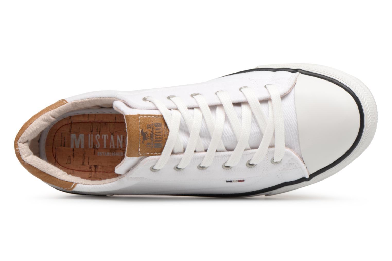 Baskets Mustang shoes Fanchi Blanc vue gauche