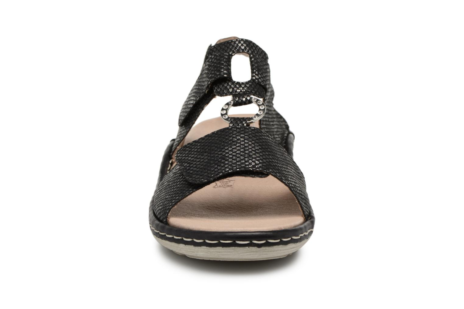 Sandals Remonte Maci D7648 Black model view