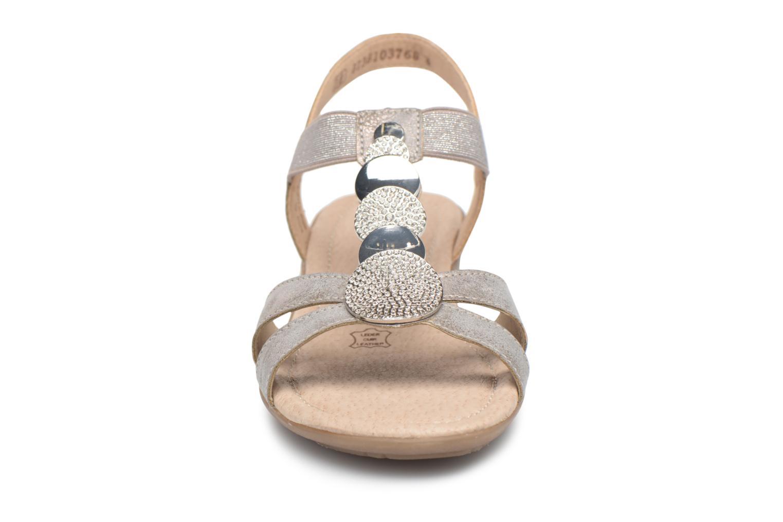 Sandaler Remonte Velma R3638 Grå bild av skorna på