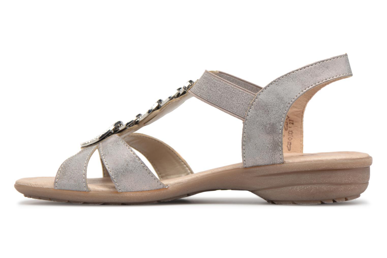 Sandals Remonte Velma R3638 Grey front view