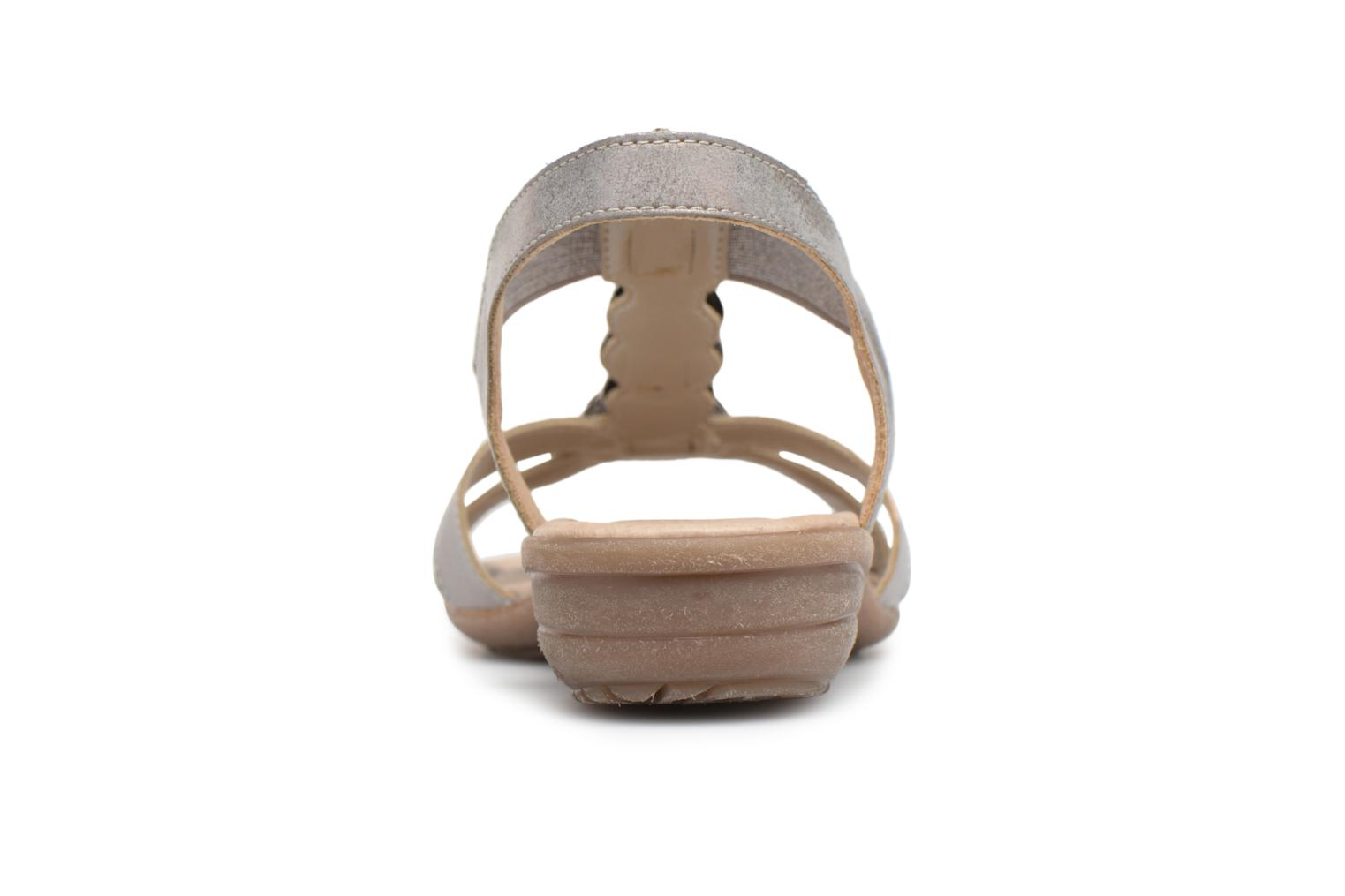 Sandals Remonte Velma R3638 Grey view from the right