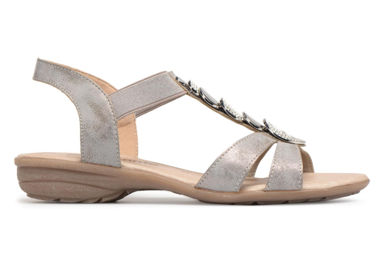 Sandals Remonte Velma R3638 Grey back view