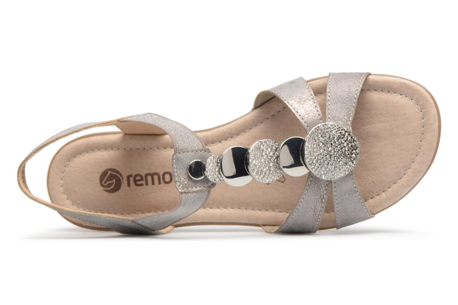 Sandals Remonte Velma R3638 Grey view from the left