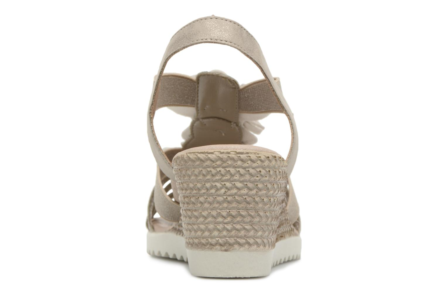 Sandals Remonte Adney D3462 Beige view from the right