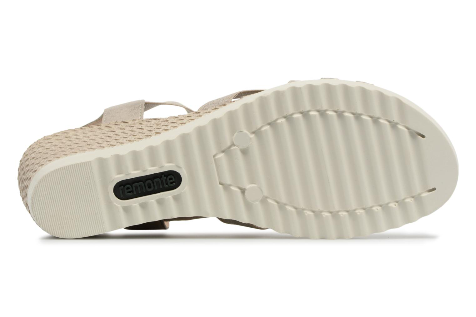 Sandals Remonte Adney D3462 Beige view from above