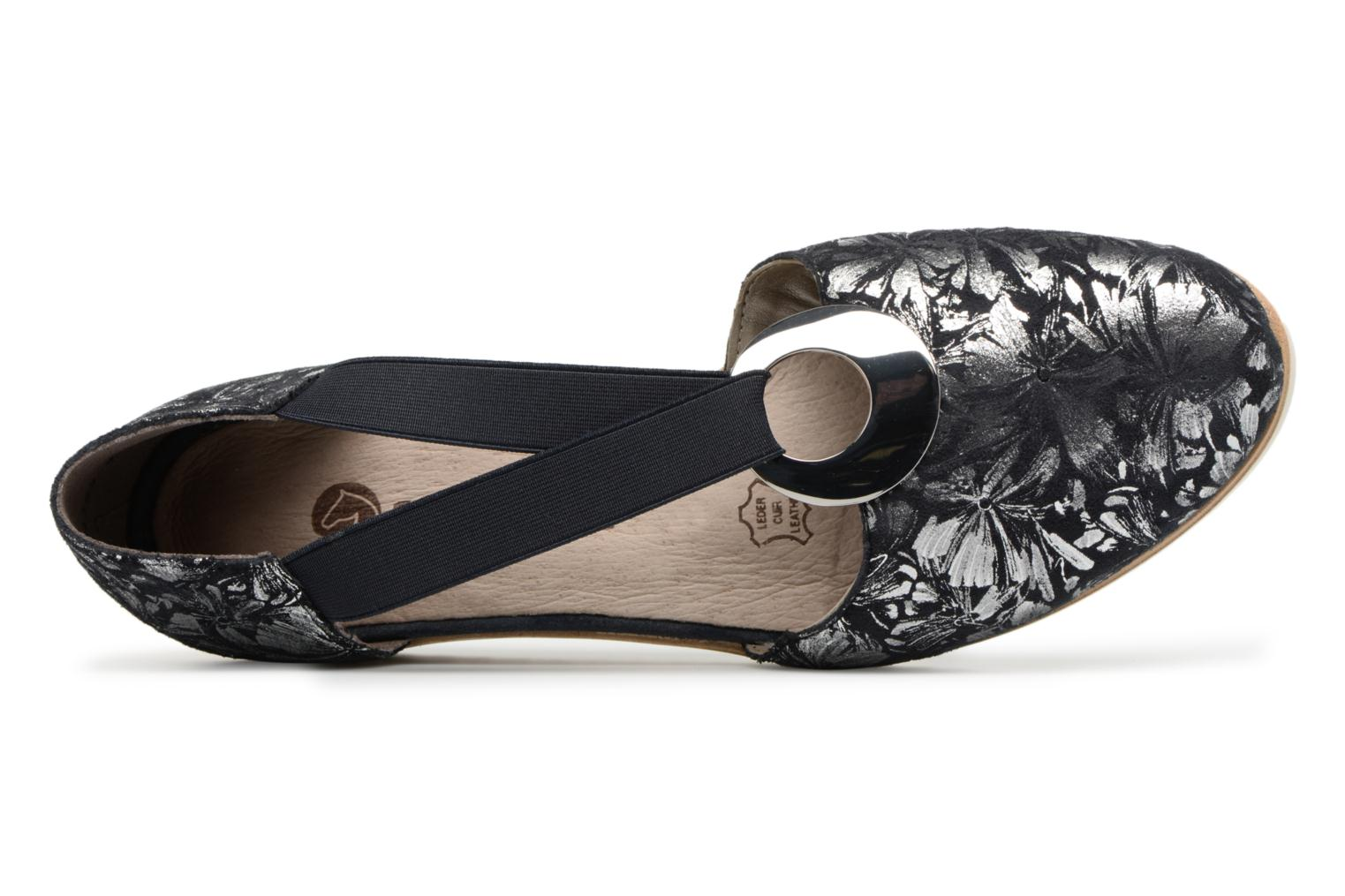 Sandals Remonte Ebba D5502 Blue view from the left