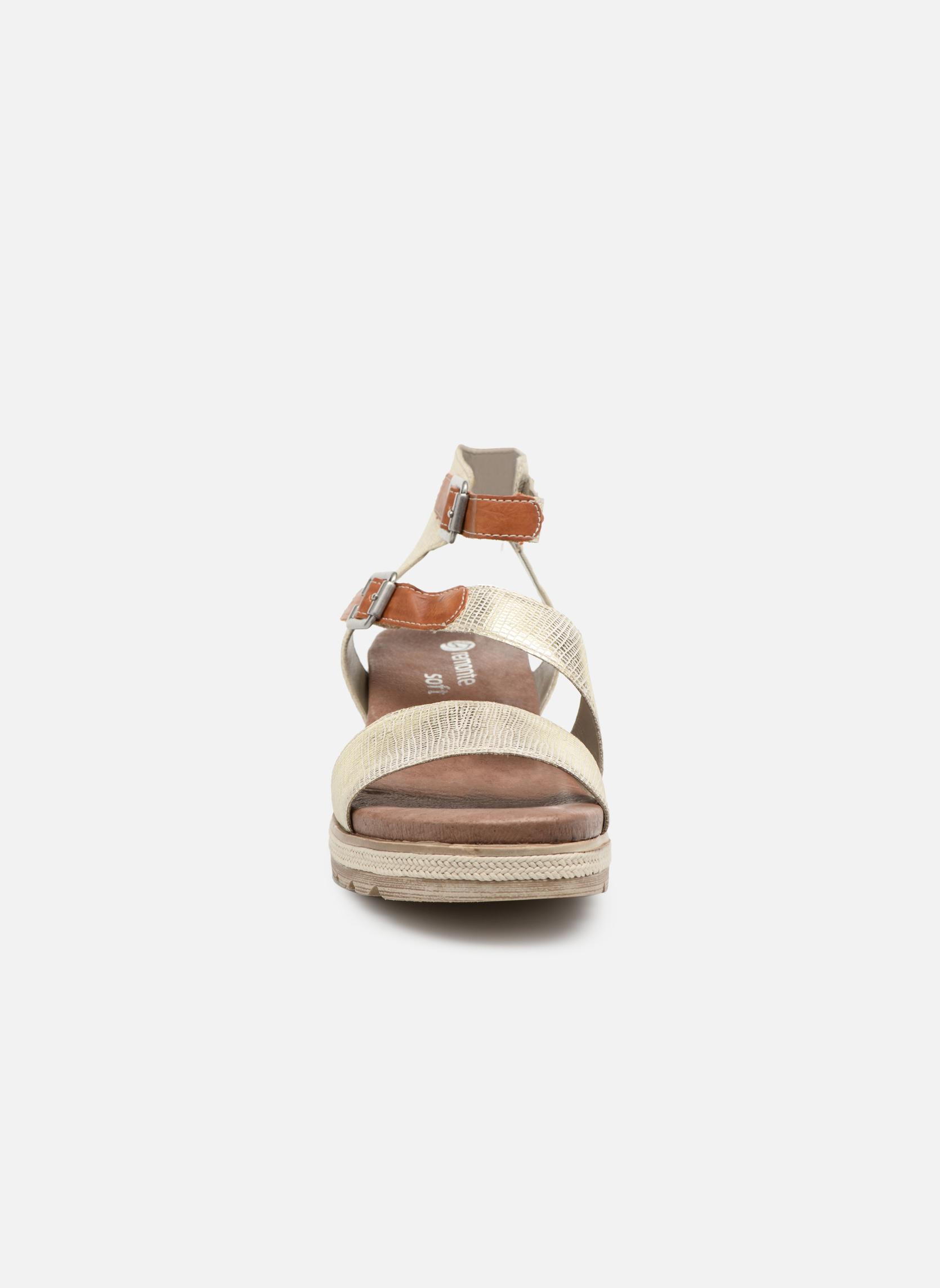 Sandals Remonte Idal D6351 Beige model view