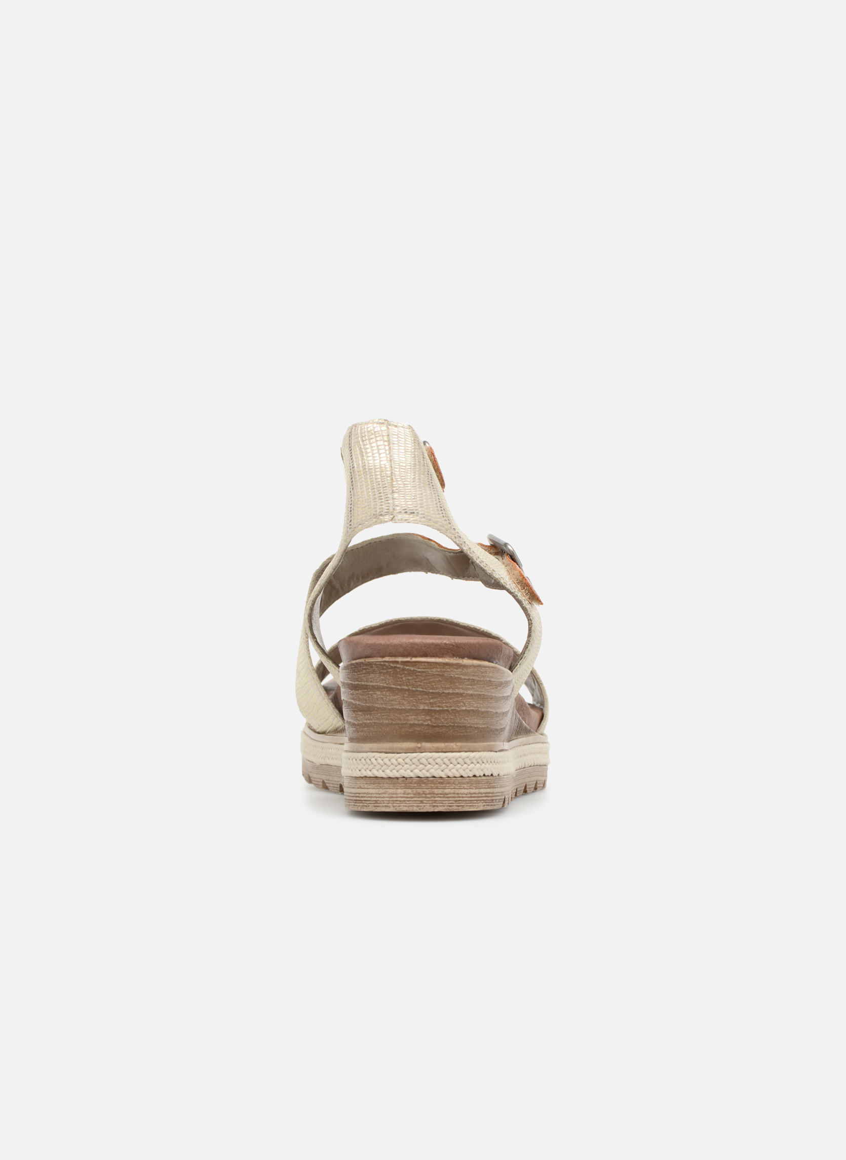 Sandales et nu-pieds Remonte Idal D6351 Beige vue droite
