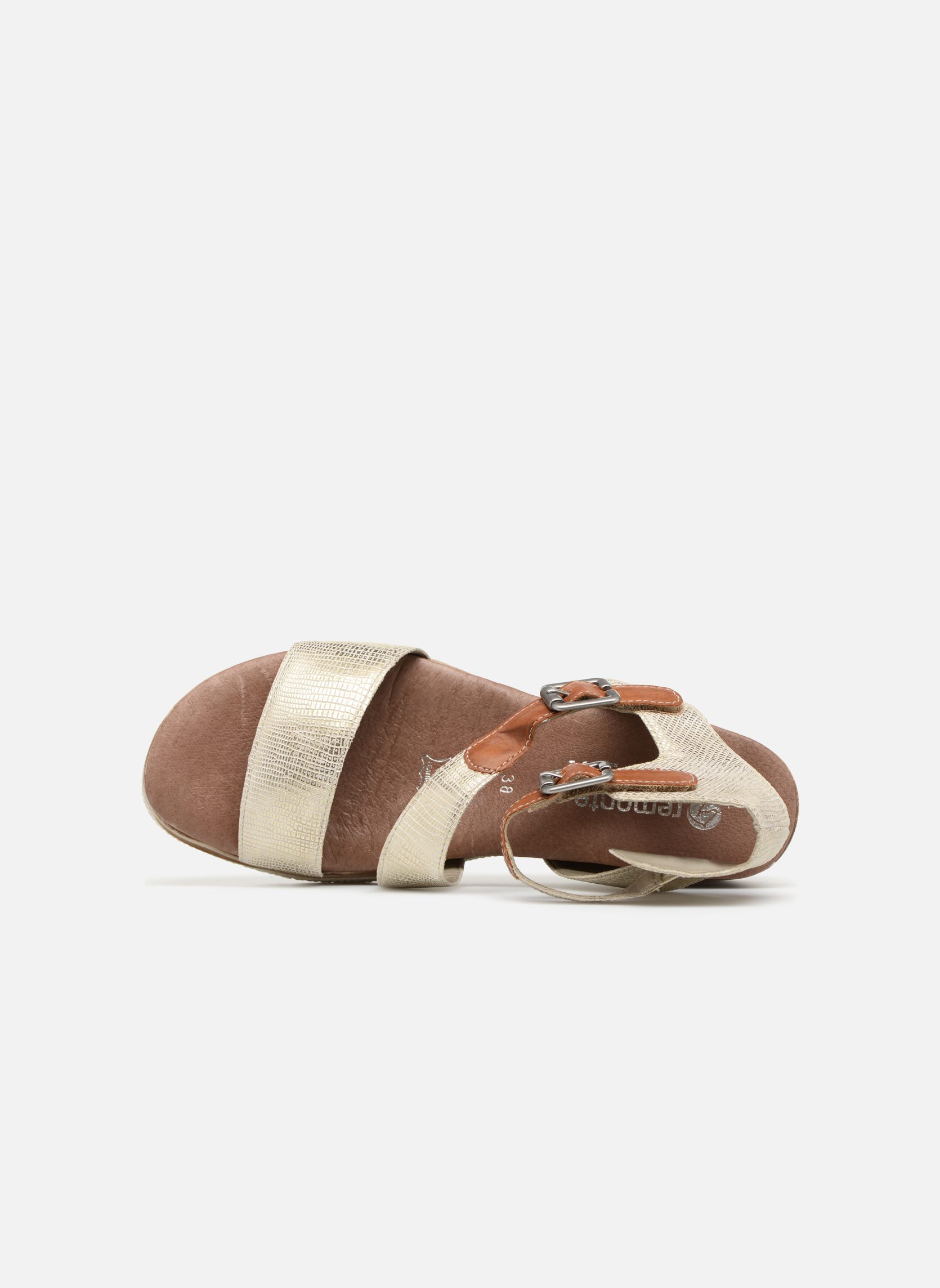 Sandals Remonte Idal D6351 Beige view from the left