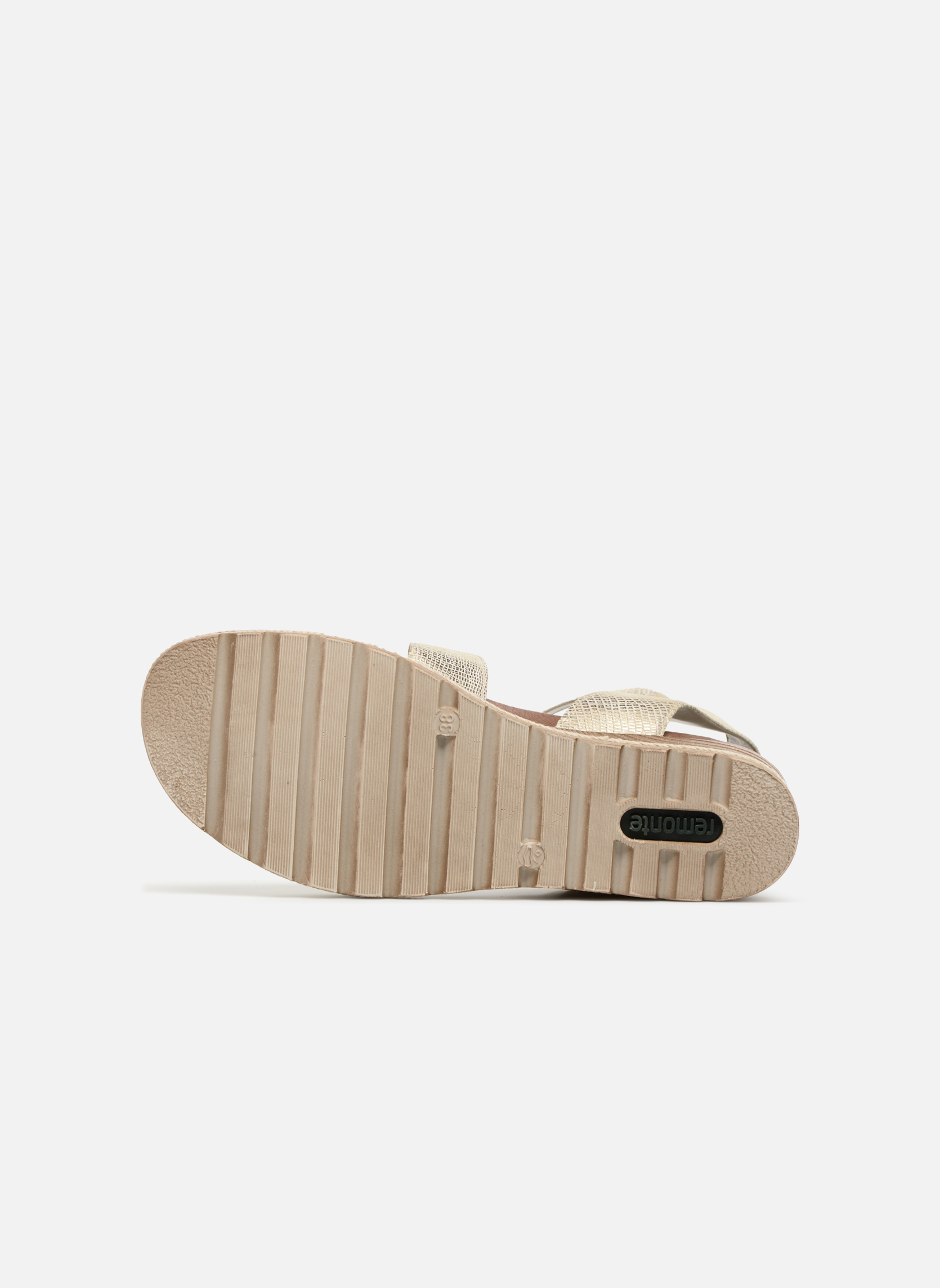 Sandals Remonte Idal D6351 Beige view from above