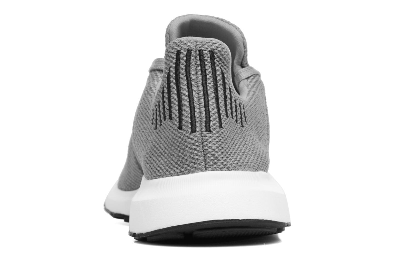 Baskets Adidas Originals Swift Run Gris vue droite