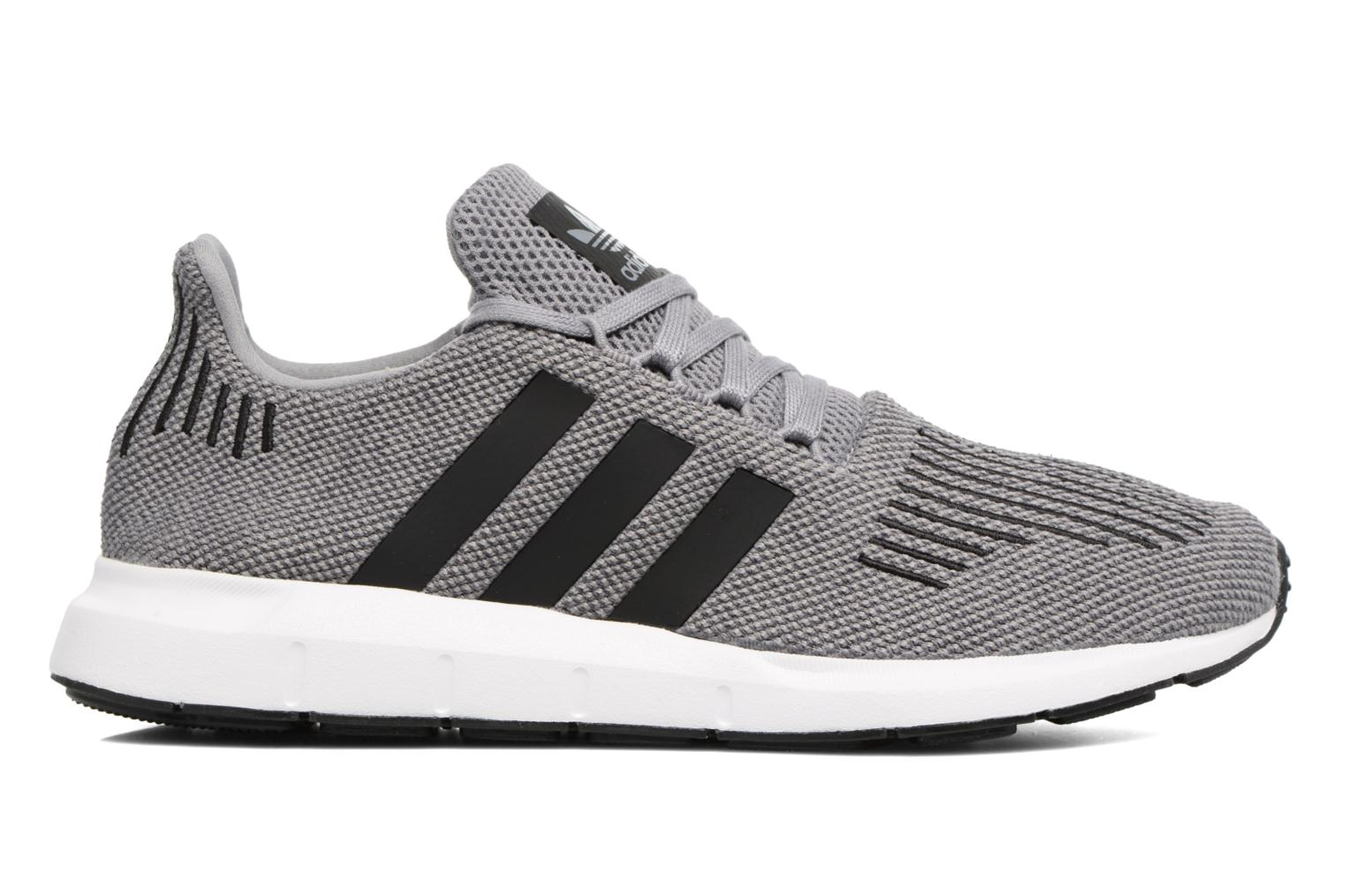 Baskets Adidas Originals Swift Run Gris vue derrière
