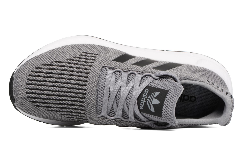 Baskets Adidas Originals Swift Run Gris vue gauche