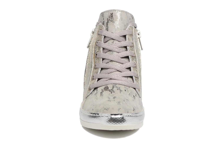 Baskets Khrio Alumtoo / vegas perla Argent vue portées chaussures