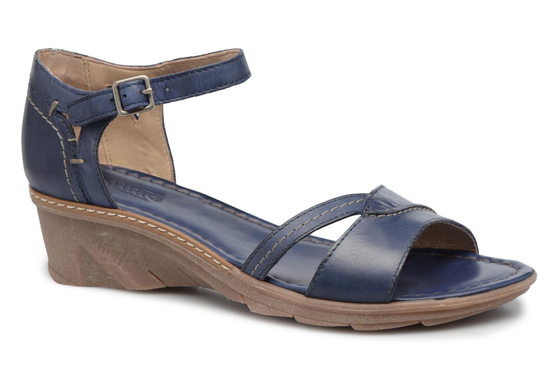 Sandales et nu-pieds Khrio Paorla mohair prussi Bleu vue détail/paire
