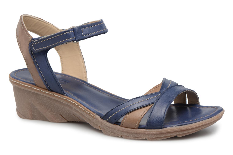 Logaki Mohair Prussi - Sandales Pour Femmes / Khrio Bleu 1BWRVCNR