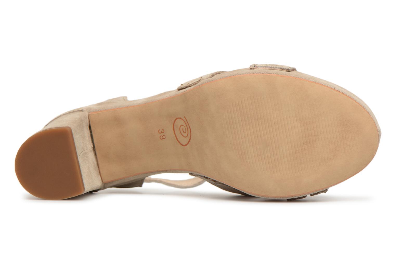 Cómodo y bien parecido Khrio Pila (Beige) - Sandalias en Más cómodo