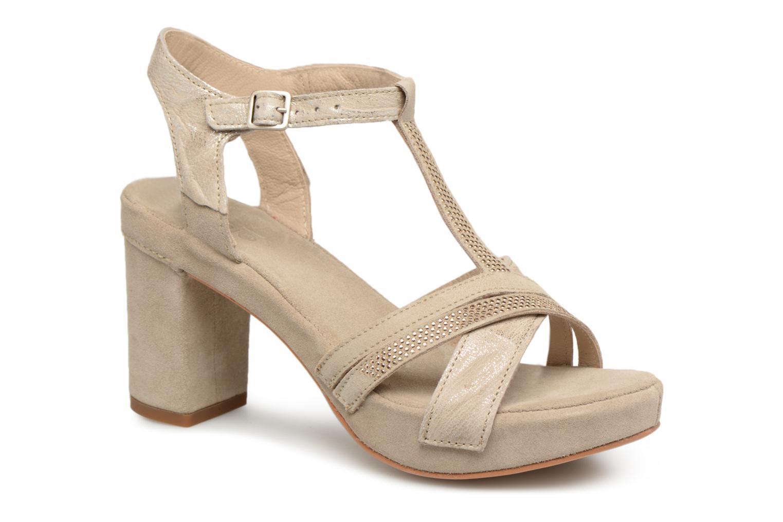 Khrio Pila (Beige) Sandales et nu pieds chez Sarenza