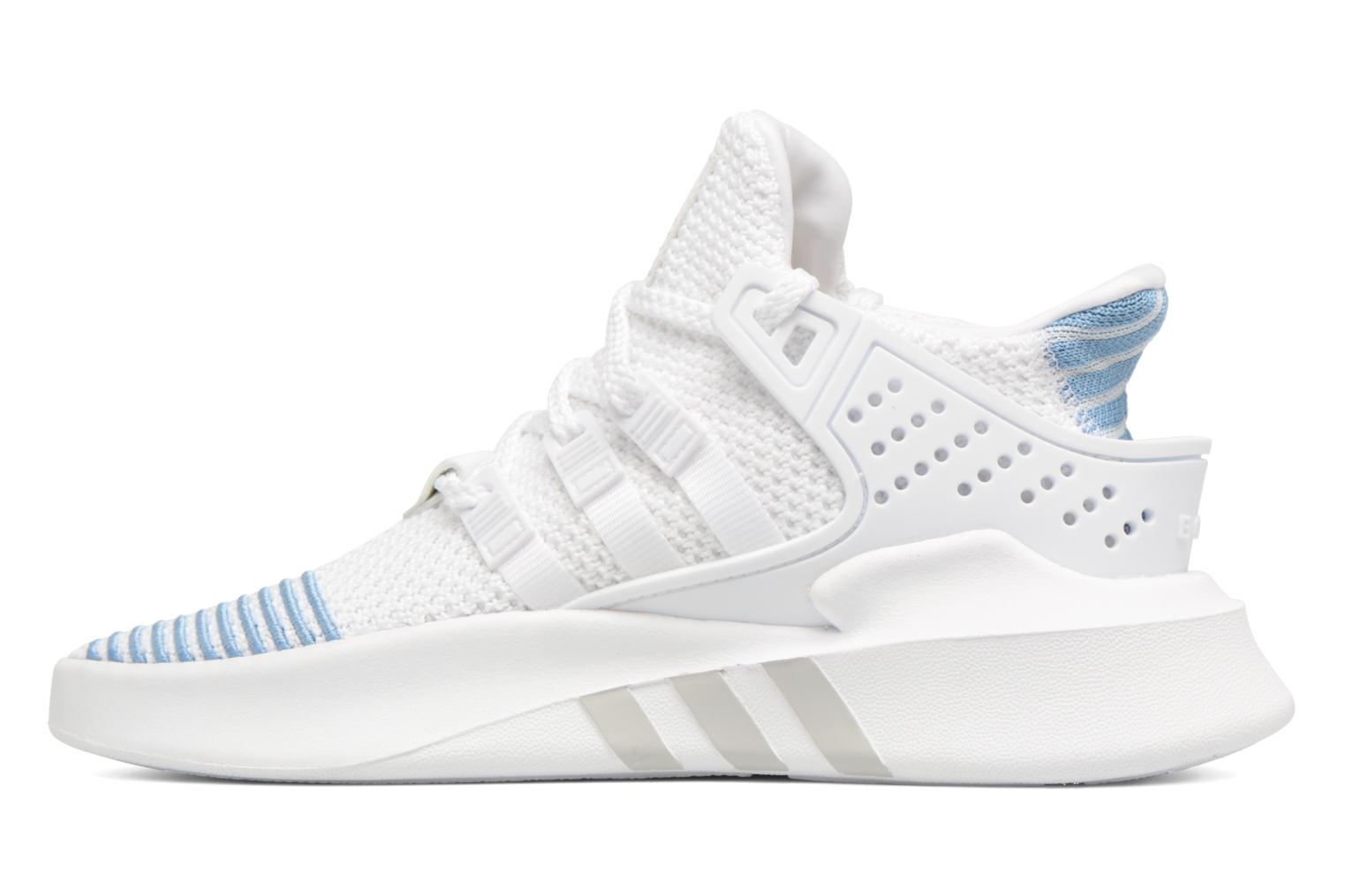 Baskets Adidas Originals Eqt Bask Adv W Blanc vue face