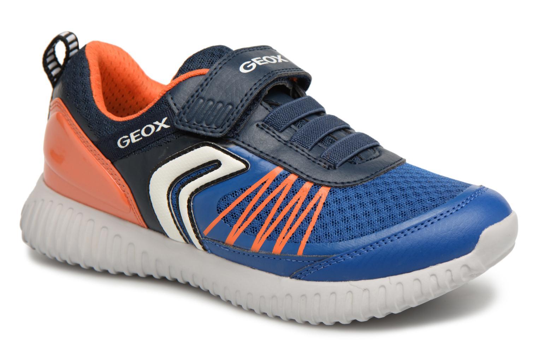 Sneakers Geox J Waviness B.C J826Tc Blauw detail