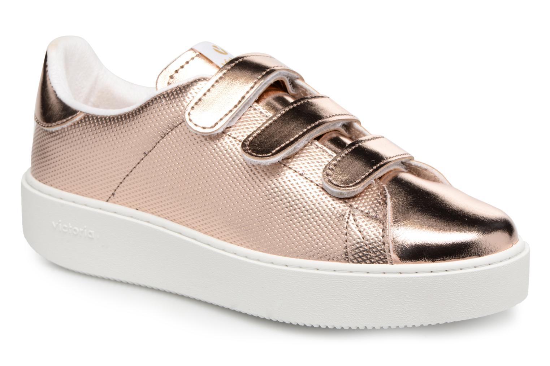 Deportivo Metalico Velcros - Sneaker für Damen / rosa Victoria uRBbfsgBYX