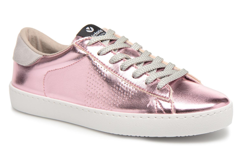 Grandes descuentos últimos zapatos Victoria Deportivo Metalizado (Rosa) - Deportivas Descuento
