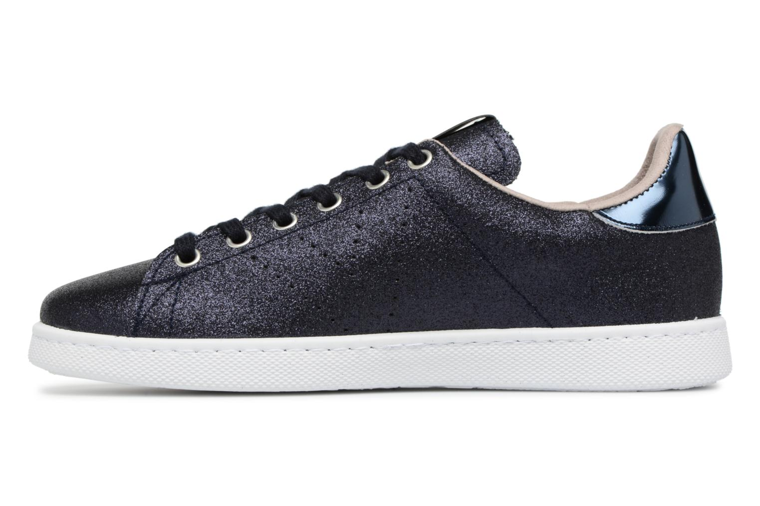 Trainers Victoria Deportivo Glitter Blue front view