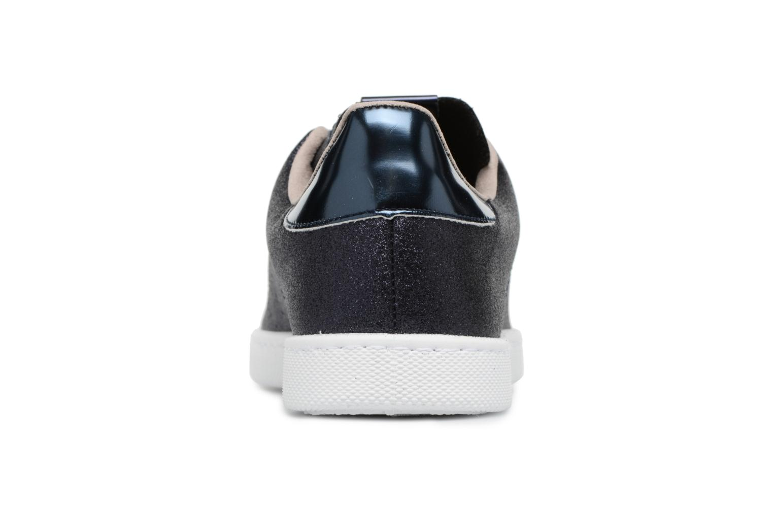Trainers Victoria Deportivo Glitter Blue view from the right