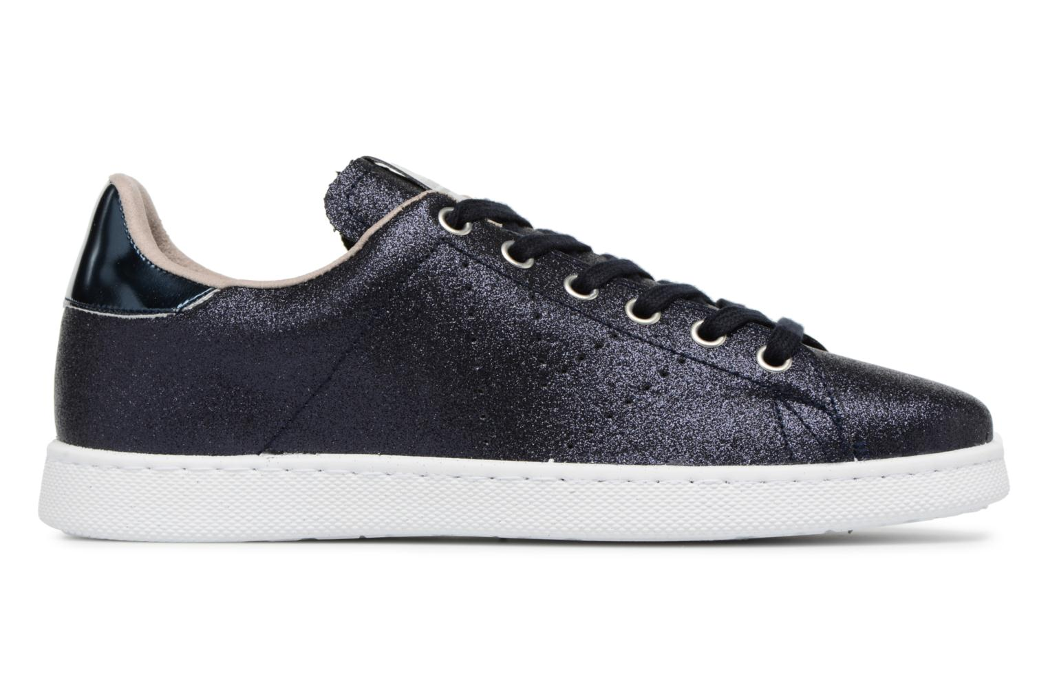 Trainers Victoria Deportivo Glitter Blue back view