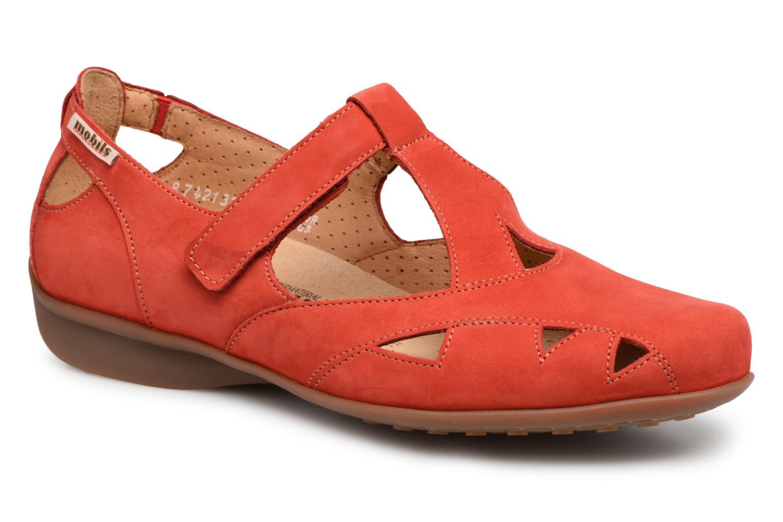 Grandes descuentos últimos zapatos Mephisto Fantine (Rojo) - Bailarinas en Más cómodo