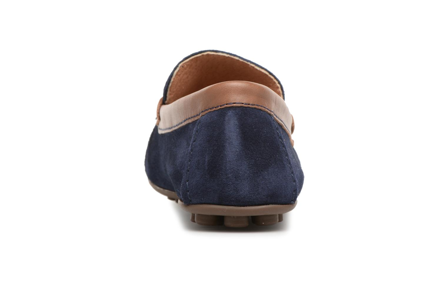 Loafers Marvin&co Scotland Blue view from the right