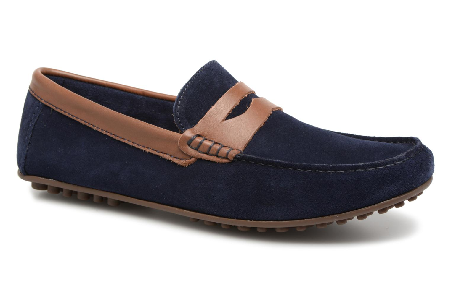 Loafers Marvin&co Scotland Blue detailed view/ Pair view
