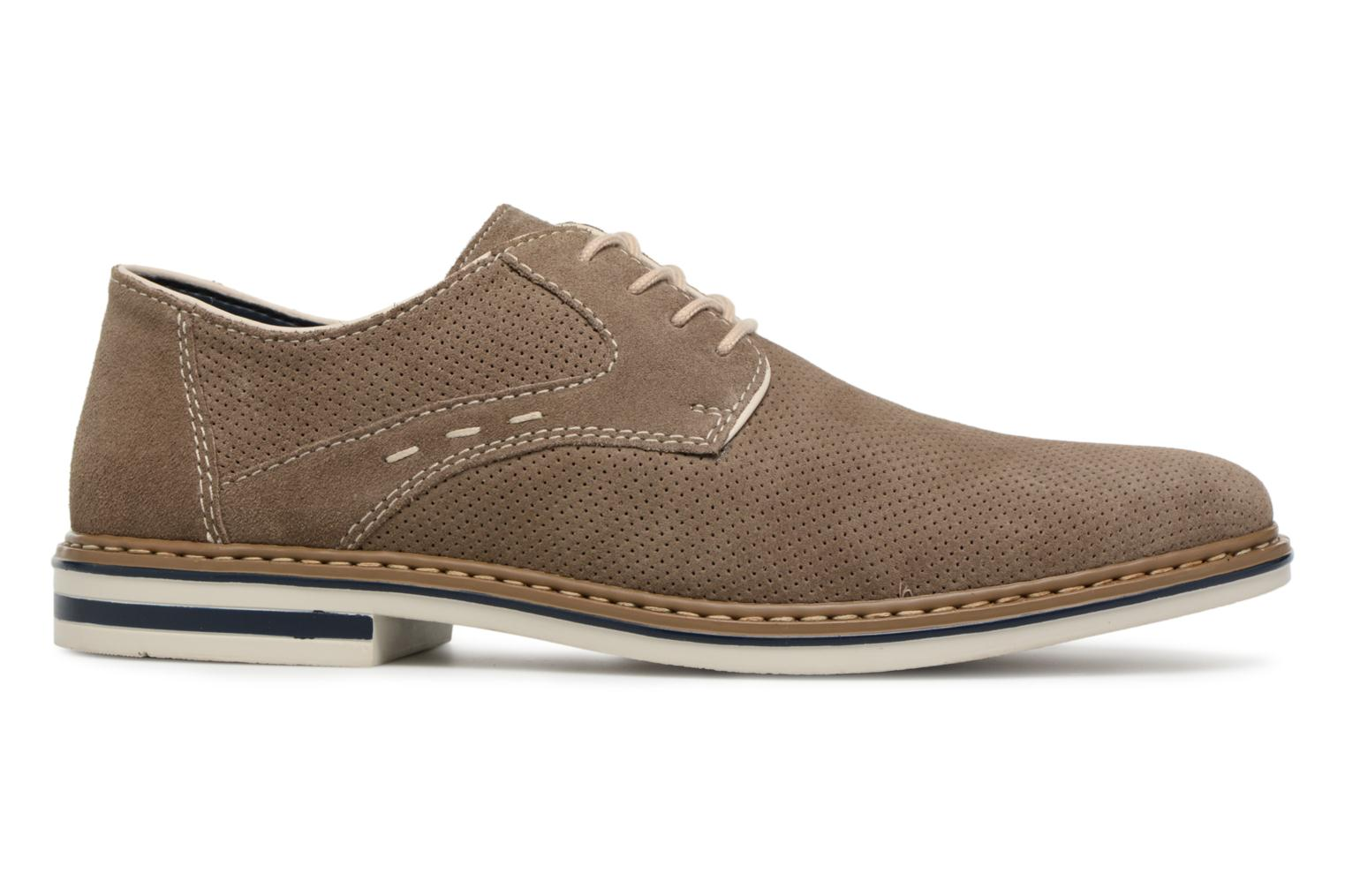 Lace-up shoes Rieker Newt B1435 Grey back view