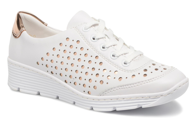 Zapatos promocionales Rieker Carlee 58702 (Blanco) - Deportivas   Cómodo y bien parecido