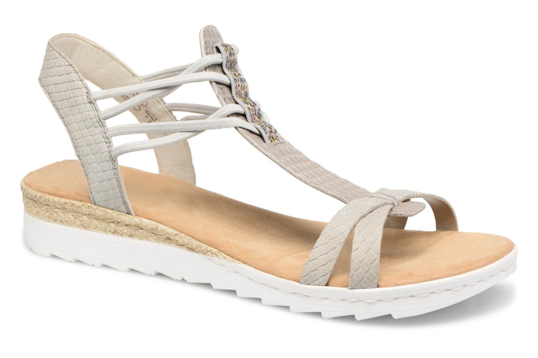 Lexie 63029 - Sandales Pour Les Femmes / Rieker Gris yReQQWcYUV