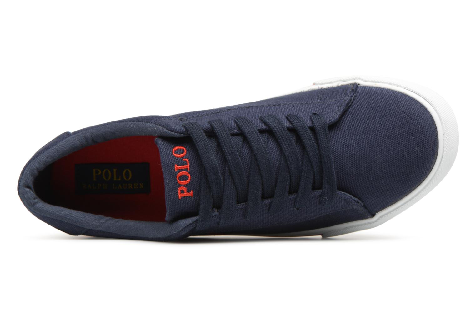 Trainers Polo Ralph Lauren Easten Blue view from the left