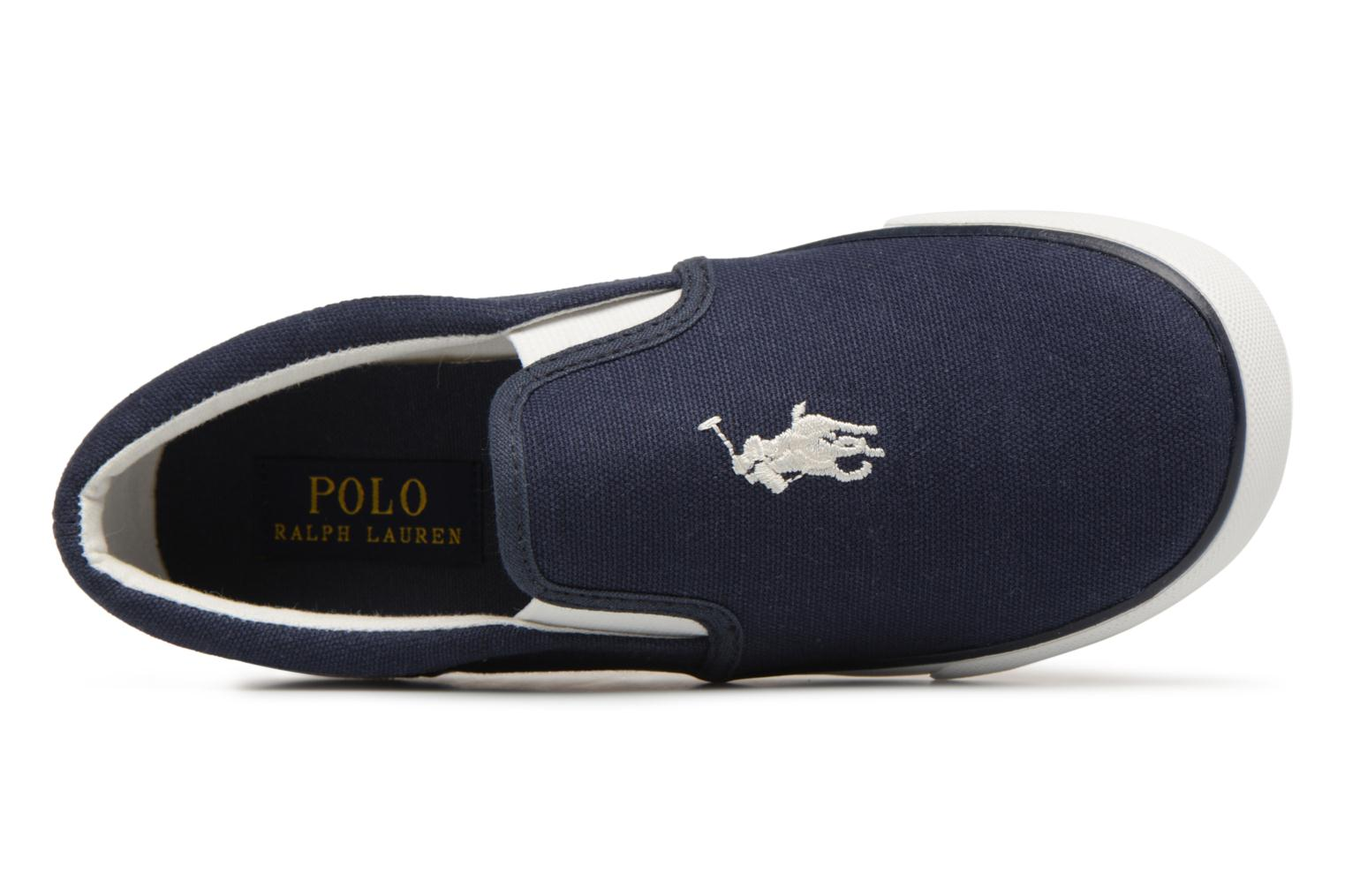 Trainers Polo Ralph Lauren Bal Harbour II Blue view from the left
