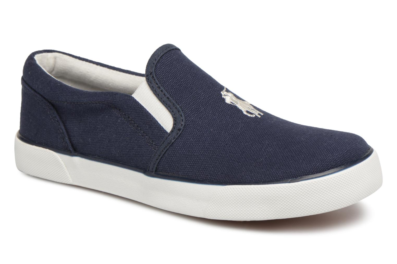 Trainers Polo Ralph Lauren Bal Harbour II Blue detailed view/ Pair view