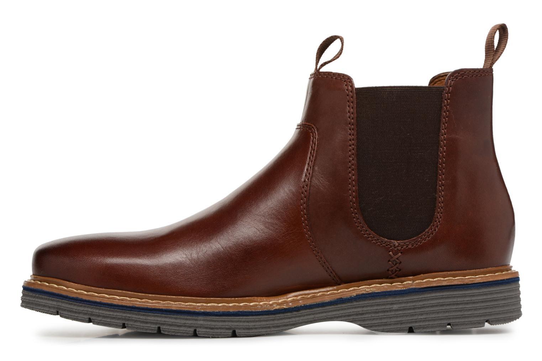 Bottines et boots Clarks Newkirk Hill Marron vue face