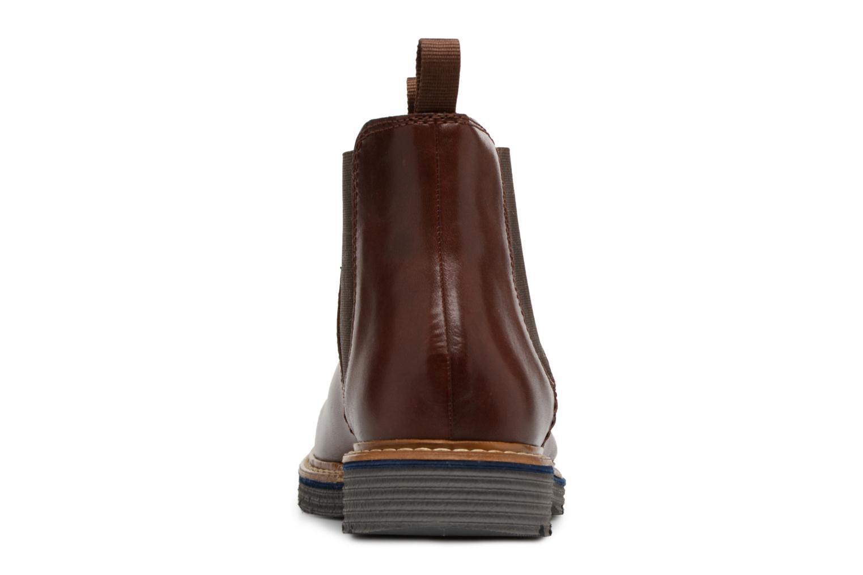 Bottines et boots Clarks Newkirk Hill Marron vue droite