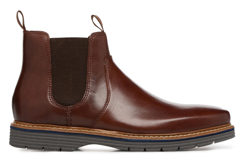 Bottines et boots Clarks Newkirk Hill Marron vue derrière