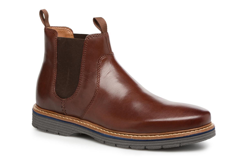 Bottines et boots Clarks Newkirk Hill Marron vue détail/paire