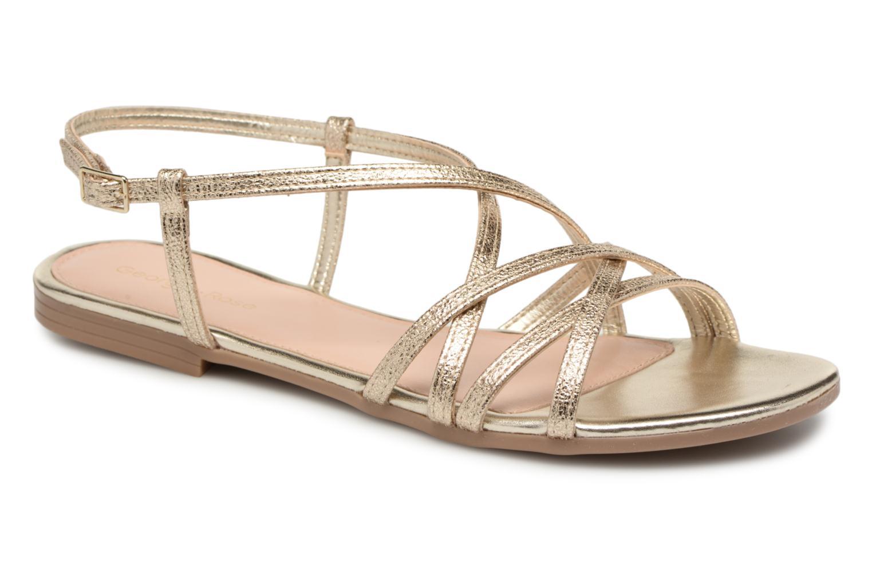 Grandes descuentos últimos zapatos Georgia Rose Luzaira (Oro y bronce) - Sandalias Descuento