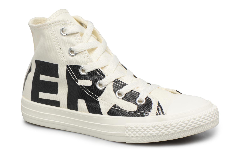 Marques Chaussure homme Converse homme Chuck Taylor All Star Converse Wordmark Hi Natural/Black/Egret