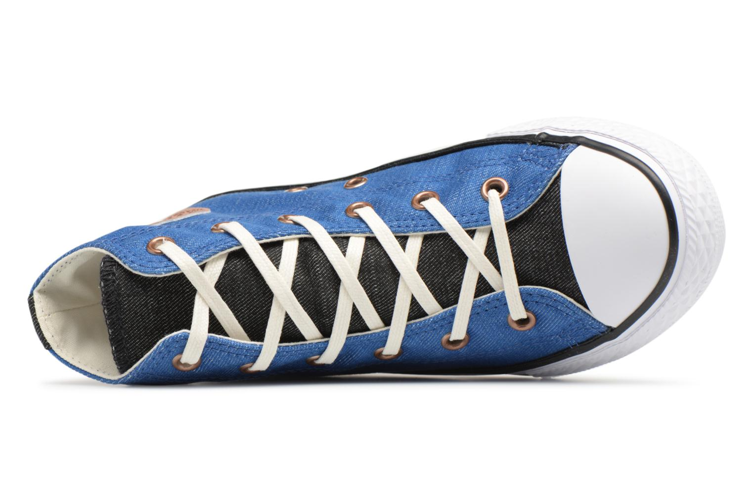 quality design b9800 f1e38 ... White All Chuck Hi Taylor Black Star Nightfall Color Two Converse Blue  Chambray PFwpqBZ ...