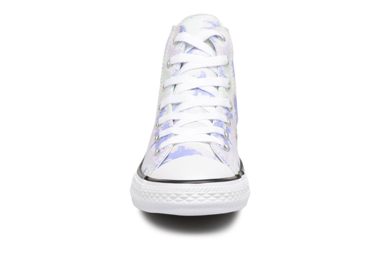 Sneakers Converse Chuck Taylor All Star Hi Palm Trees Multicolore modello indossato
