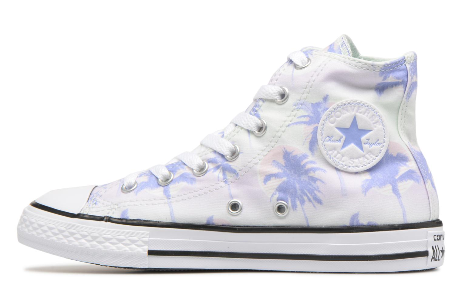 Sneakers Converse Chuck Taylor All Star Hi Palm Trees Multicolore immagine frontale