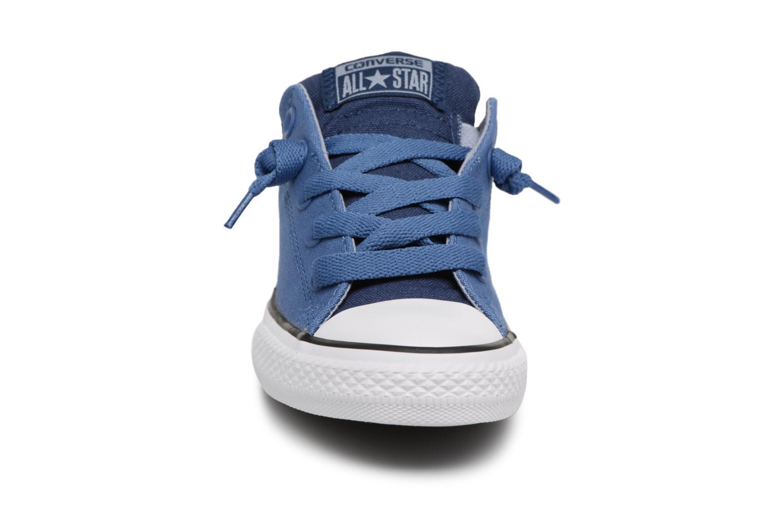 Deportivas Converse Chuck Taylor All Star Street Slip Fundamentals Spring Azul vista del modelo