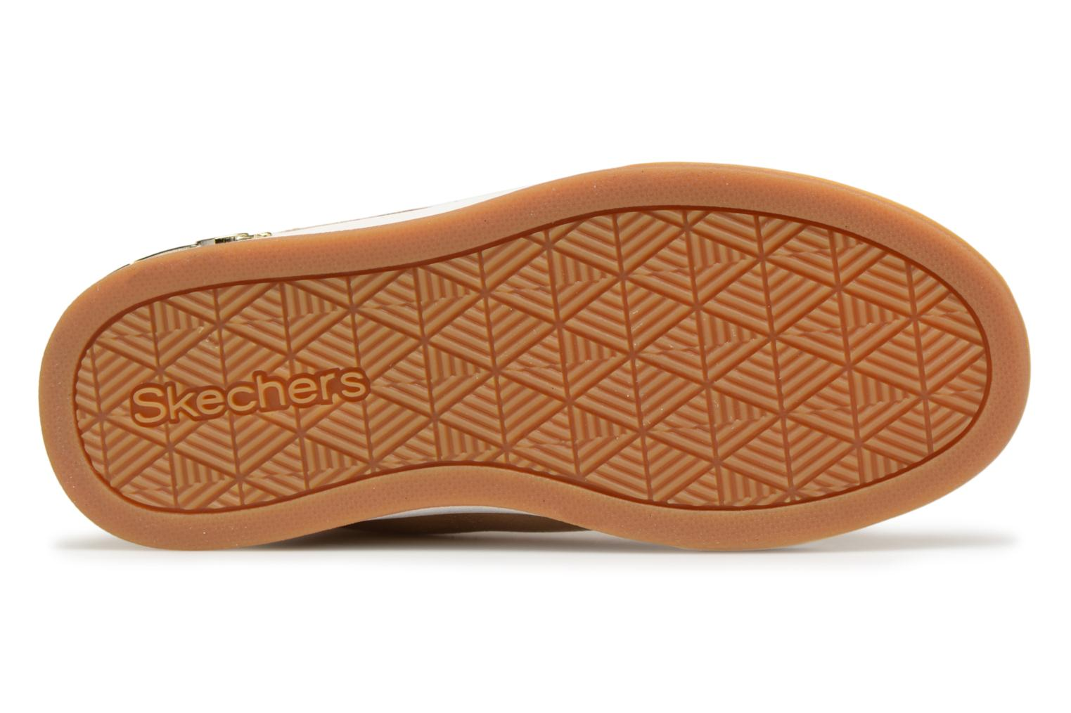 Baskets Skechers Shoutouts Starry Shine Or et bronze vue haut